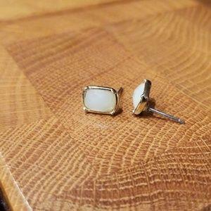NWOT Ann Taylor Rectangular Post Earrings